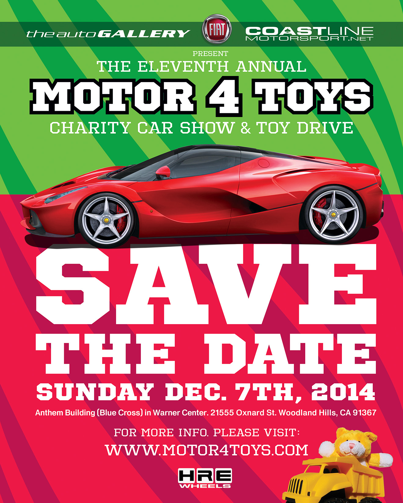 2014 Motor 4 Toys Charity Exotic Car Show